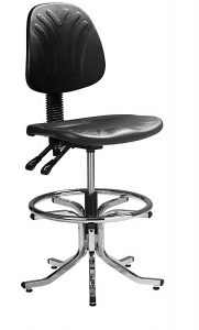 industrial draughtmans chair
